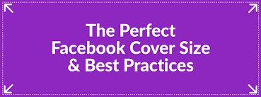 Facebook dimensions for cover photo