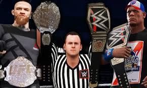 WWE TO MMA