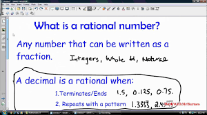 What is rational number?