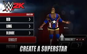 Mobile WWE wrestling app