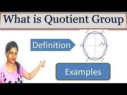 What is quotient?