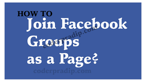 How to post as a Facebook Page in your Group