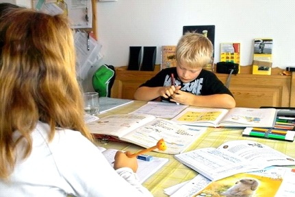Does your child need help with homework or a caregiver?