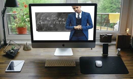 What platforms exist for distance learning?