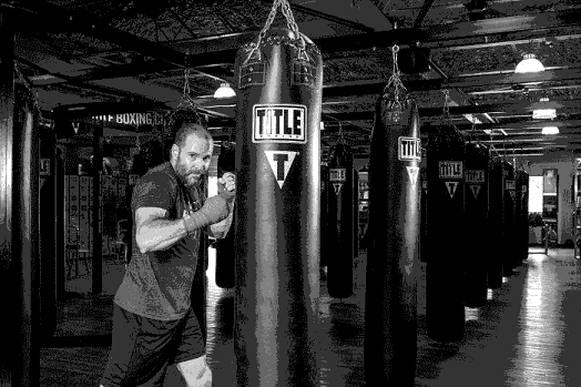 Boxing classes for beginners with a private teacher