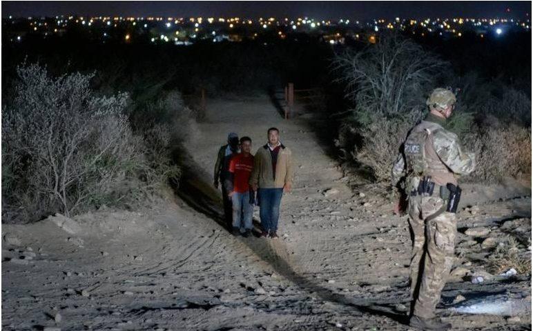 Arrests of migrants