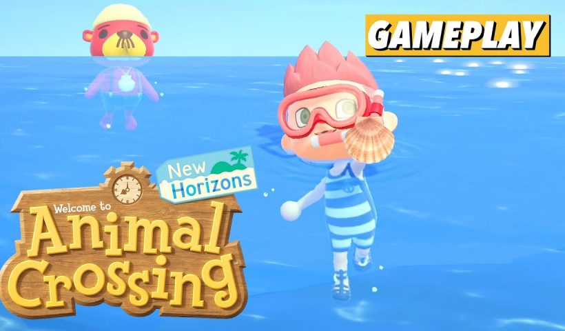 How to dive in animal crossing