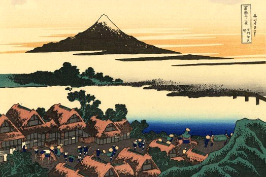 The history of Mount Fuji