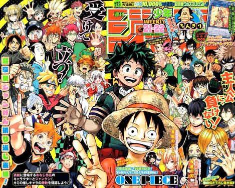 The most popular Japanese magazines
