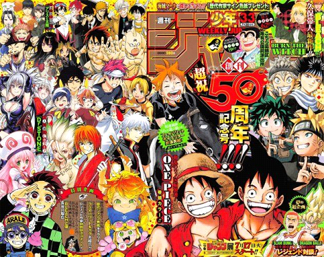 The most successful manga around the world