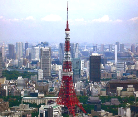 The most famous places in the capital of Japan